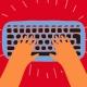 Human at keyboard!