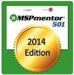 Logo for MSP Mentor top 501 Managed Service Providers Wolrdwide