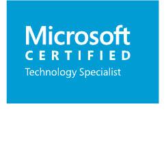 MS Certified Tech Specialist